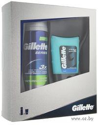 Подарочный набор GILLETTE (гель после бритья 75 мл + гель для бритья 200 мл)