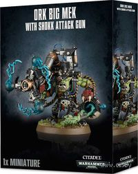 "Миниатюра ""Warhammer 40.000. Ork Big Mek with Shokk Attack Gun"" (50-11)"