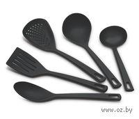 Набор кухонных принадлежностей пластмассовых термостойких (5 предметов)