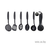 Набор кухонных принадлежностей пластмассовых (5 пр, 33 см)