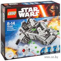 """LEGO. Star Wars. """"Снежный Спидер Первого ордена"""""""