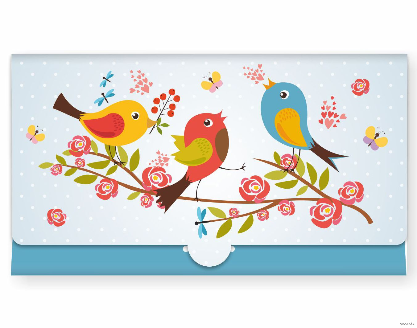 Смешные, открытка с птичками своими руками