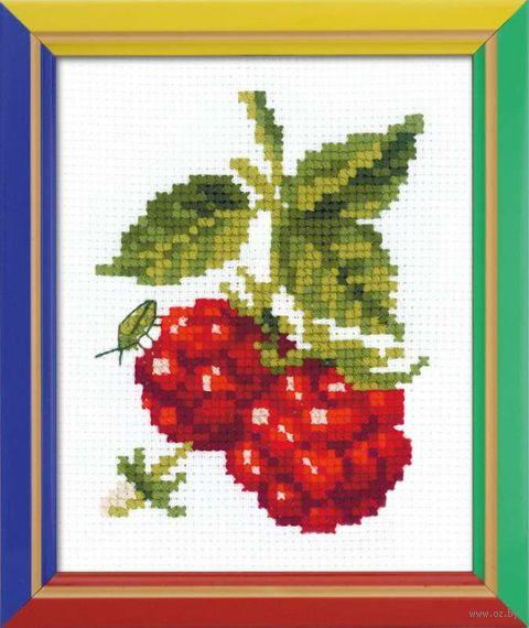 """Вышивка крестом """"Сладкая ягода"""" (130х160 мм) — фото, картинка"""