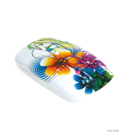 Беспроводная оптическая мышь SmartBuy 327AG Flowers Full-Color Print