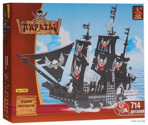 """Конструктор """"Пираты. Пиратский корабль"""" (714 деталей) — фото, картинка"""