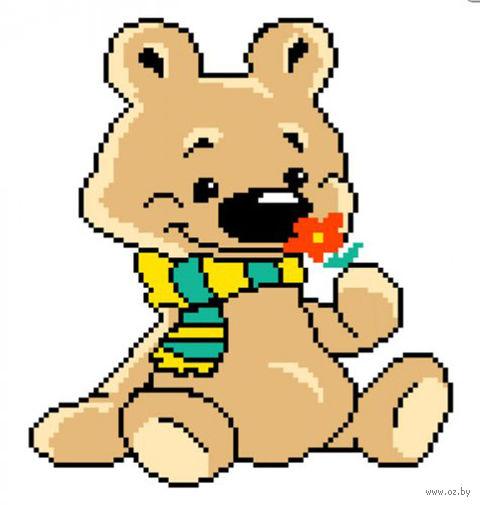 """Вышивка крестом """"Медвежонок"""""""