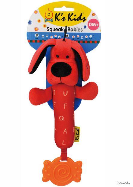 """Мягкая игрушка-пищалка """"Патрик"""""""