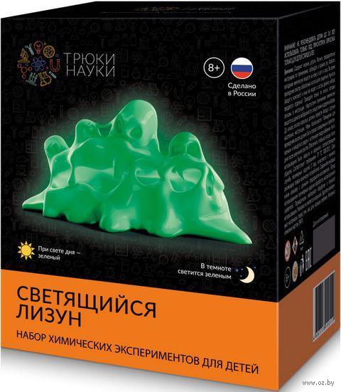 """Набор для опытов """"Светящийся лизун"""" (зелёный) — фото, картинка"""