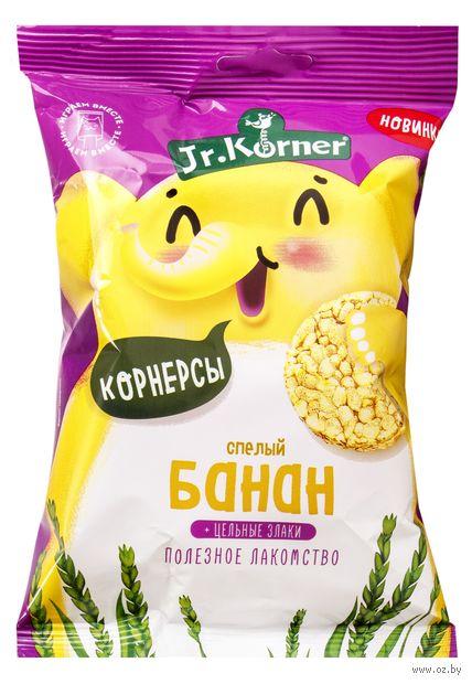 """Мини-хлебцы """"Jr. Korner. Со вкусом банана"""" (30 г) — фото, картинка"""