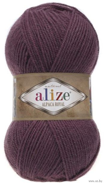 "Пряжа ""ALIZE. Alpaca Royal №169"" (100 г; 250 м; вишневый) — фото, картинка"