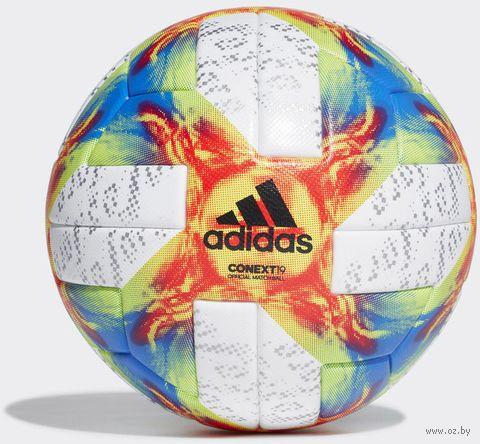 """Мяч футбольный """"Conext 19 OMB"""" №5 (белый) — фото, картинка"""