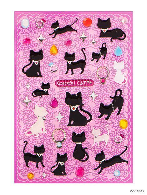 """Наклейки гелевые """"Кошки"""" — фото, картинка"""