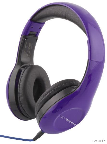Наушники Esperanza EH138V (Purple) — фото, картинка
