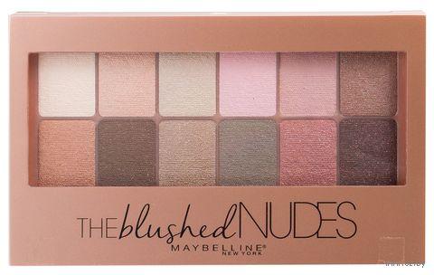 "Палетка теней для век ""The Blushed Nudes"" (12 оттенков)"