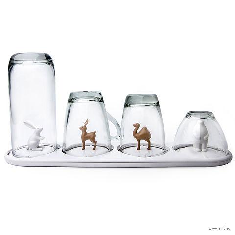 """Сушилка для бокалов и стаканов """"Animal Parade"""""""