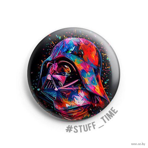 "Значок маленький ""Star Wars. Дарт Вейдер"" (арт. 924) — фото, картинка"