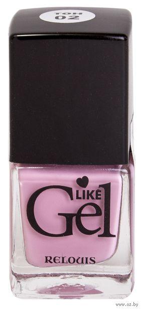 """Лак для ногтей """"Like Gel"""" (тон: 02, кашемировая роза) — фото, картинка"""