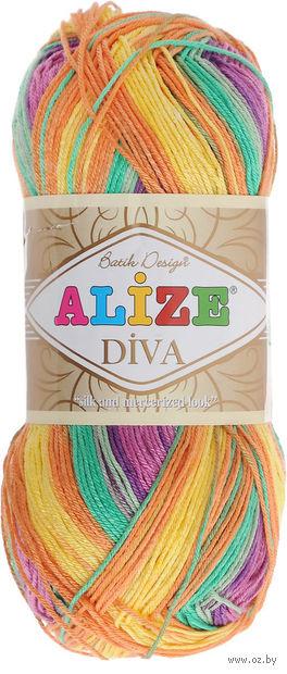 ALIZE. Diva Batik Design №5509 (100 г; 350 м) — фото, картинка