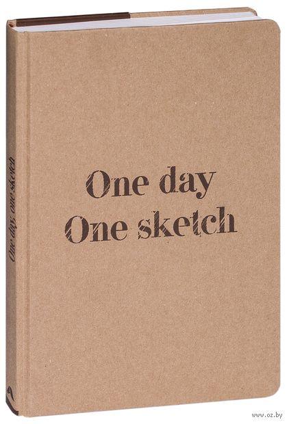 """Скетчбук """"One day, one sketch"""" (162x235 мм) — фото, картинка"""
