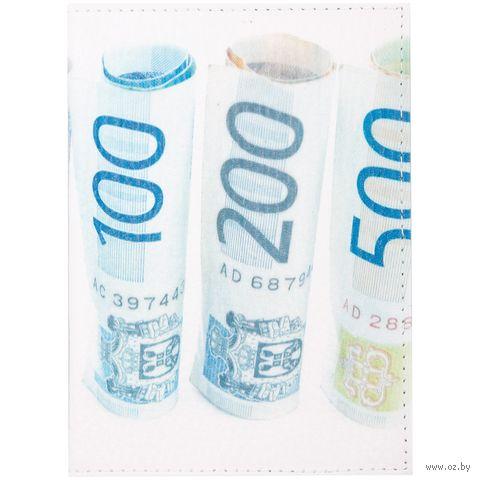 """Обложка на паспорт """"Евро"""" — фото, картинка"""