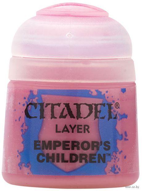 """Краска акриловая """"Citadel Layer"""" (emperor's children; 12 мл) — фото, картинка"""