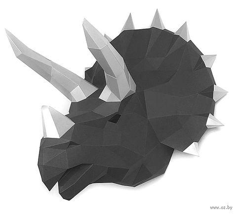 """3D-конструктор """"Динозавр Топс"""" (графит) — фото, картинка"""