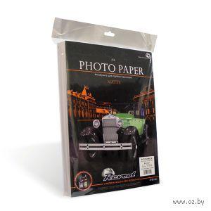 """Фотобумага """"Revcol"""" двухсторонняя матовая для струйной печати A4 (220 г/м.кв.100 л.) — фото, картинка"""