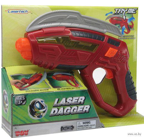 """Игрушка-трансформер """"Пистолет-кортик"""" (со световыми и звуковыми эффектами)"""