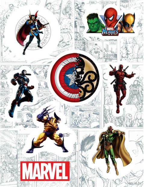 "Набор виниловых наклеек №133 ""Marvel"""