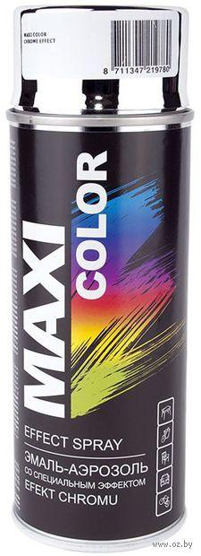 """Эмаль аэрозольная """"Maxi Color"""" (хром-эффект) — фото, картинка"""
