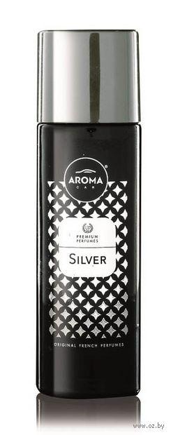 """Ароматизатор-спрей """"Prestige Spray"""" (silver) — фото, картинка"""