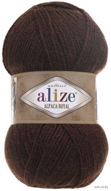"""Пряжа """"ALIZE. Alpaca Royal №201"""" (100 г; 250 м; коричневый) — фото, картинка"""