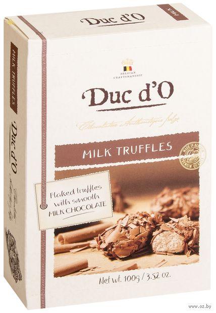 """Конфеты """"Duc d'O. Milk Truffles"""" (100 г) — фото, картинка"""