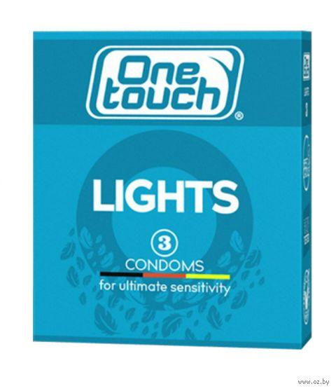 "Презервативы ""One Touch. Lights"" (3 шт.) — фото, картинка"