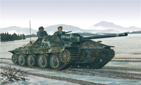 "САУ ""Jagdpanzer 38(t) Hetzer"" (масштаб: 1/72) — фото, картинка"