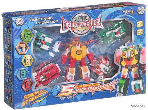 """Робот-трансформер """"Land Master. 5 в 1"""""""
