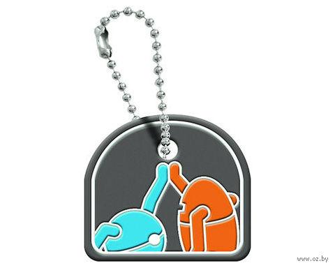 Портал 2 — Атлас и Пи-боди, декоративный чехол на ключ
