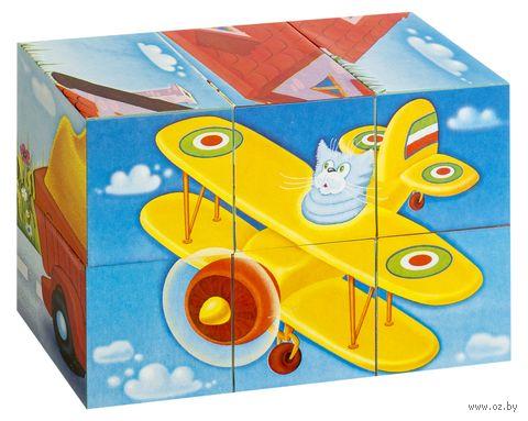 """Кубики с картинками """"Игрушки"""" (6 шт.) — фото, картинка"""
