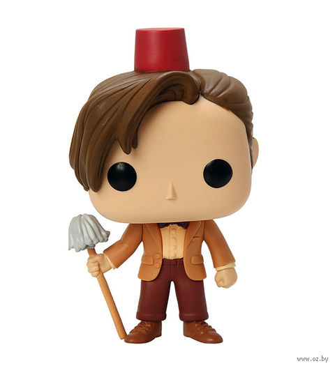 "Фигурка POP ""Doctor Who. Dr #11 Fez&Mop Exclusive"" (9,5 см)"
