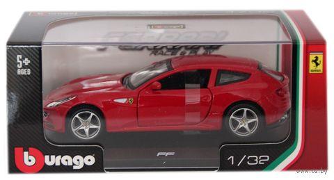 """Модель машины """"Bburago. Ferrari FF"""" (масштаб: 1/32) — фото, картинка"""