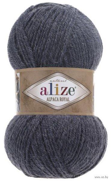 "Пряжа ""ALIZE. Alpaca Royal №203"" (100 г; 250 м; джинс) — фото, картинка"