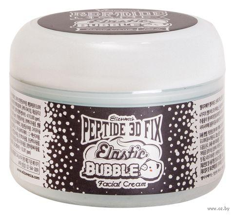 "Крем для лица ""Peptide 3D Fix Elastic Bubble Facial Cream"" (100 мл) — фото, картинка"