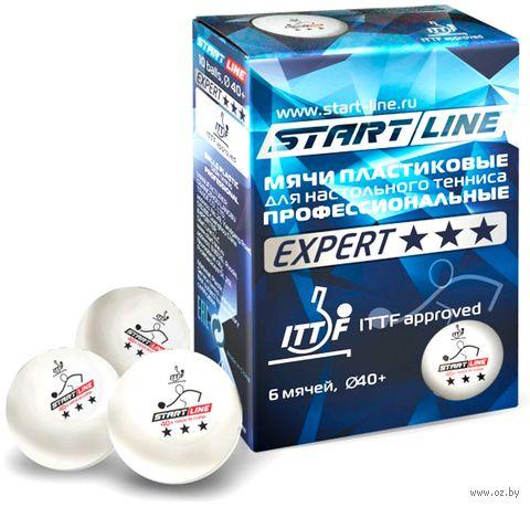 """Мячи для настольного тенниса """"Expert"""" (6 шт.; 3 звезды) — фото, картинка"""