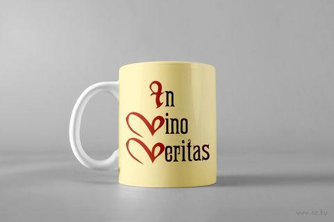 """Кружка """"In vino veritas"""" — фото, картинка"""