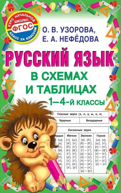 Русский язык в схемах и таблицах. 1-4 класс — фото, картинка