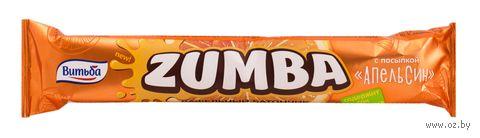 "Батончик вафельный ""Zumba. Апельсин"" (40 г) — фото, картинка"