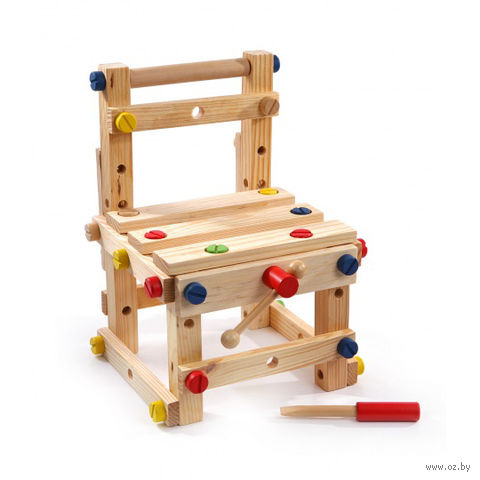 """Деревянная игрушка """"Стул малый"""""""