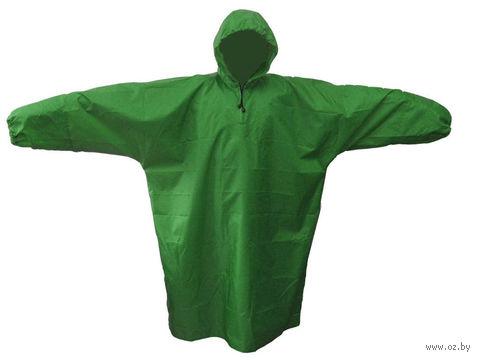 Плащ влагозащитный (L, темно-зеленый)