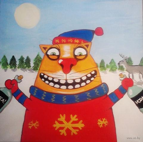 """Магнит сувенирный """"Картины Васи Ложкина"""" (арт. 1723)"""
