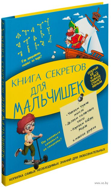 Книга секретов для мальчишек. Светлана Пирожник, Андрей Мерников
